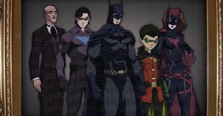 [DC Animated] - Batman: Silêncio, Legado de Sangue, Cinco Fatais, etc... - Página 2 41549