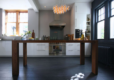 diseño de cocina contemporánea