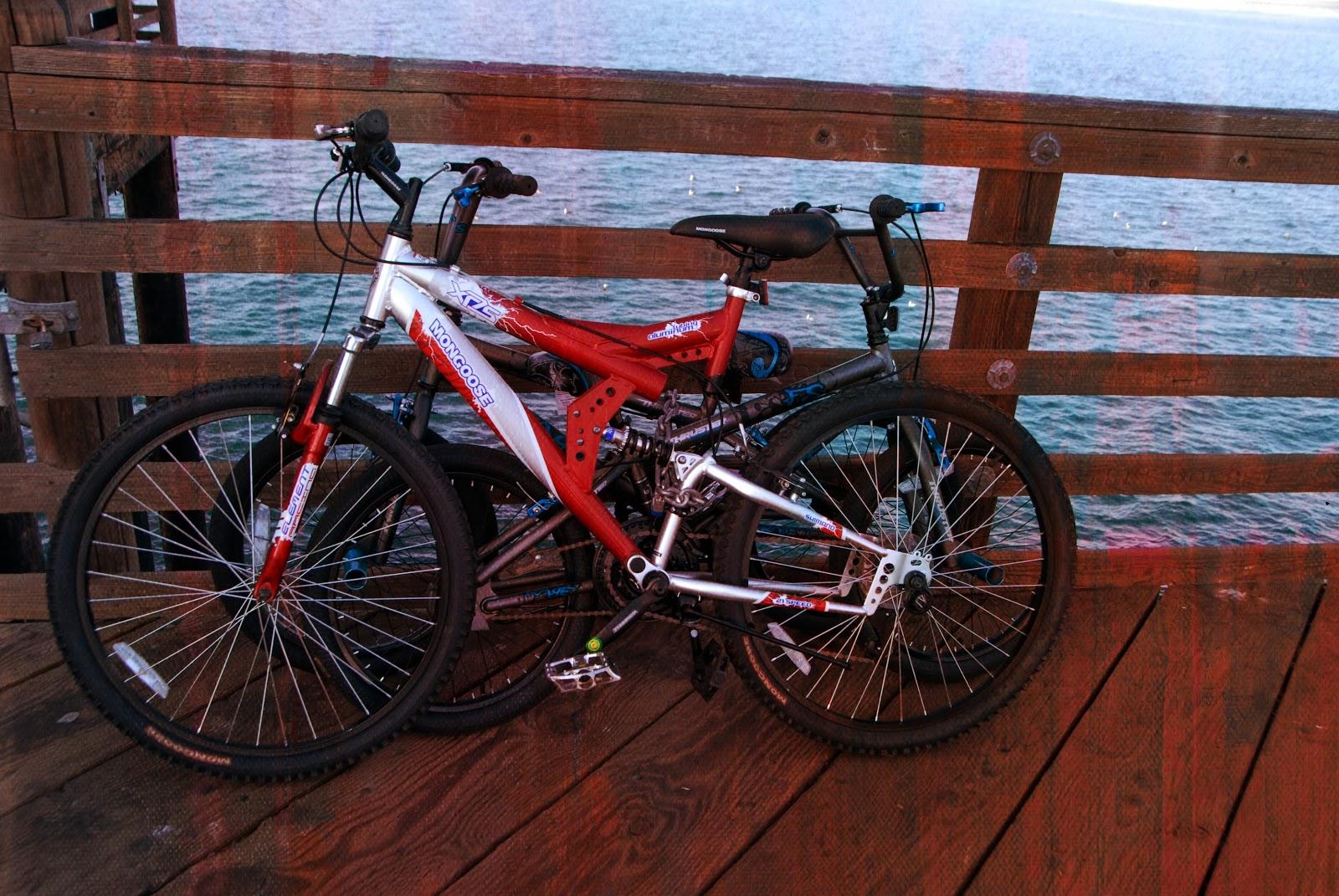 photo edit of bikes