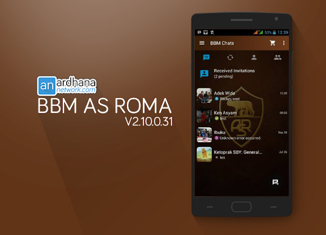 BBM As Roma - Ardhananetwork