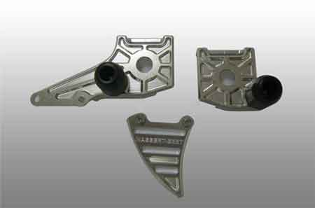 Rear Adjuster Plate Kit Ninja 250R