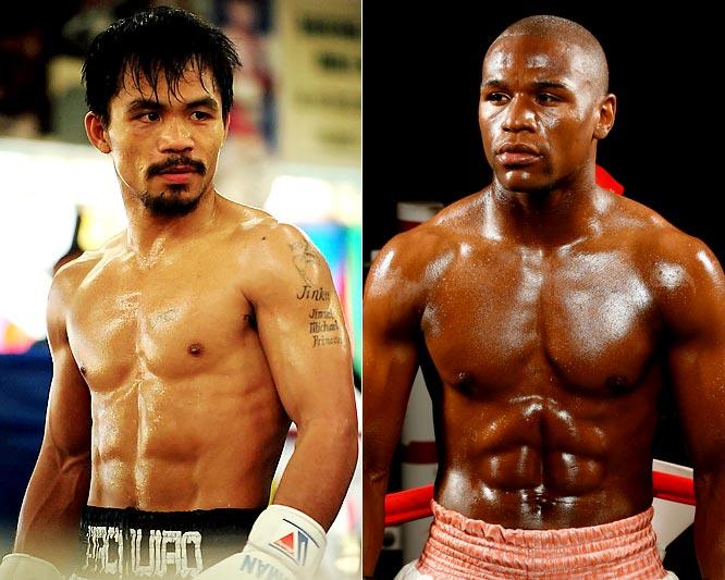 Jadwal tinju Manny Pacquiao vs Floyd Mayweather