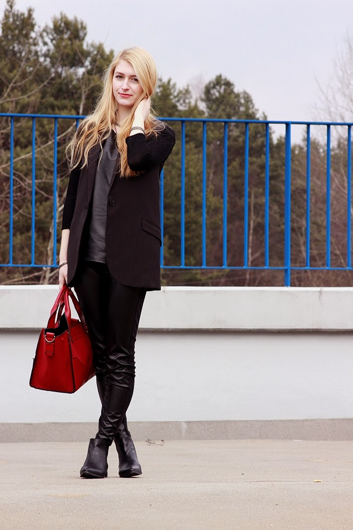 OUTFIT OF THE DAY: ALL BLACK EVERYTHING Simply The Best Blog created by Ewa Sularz