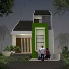 Desain Rumah Sederhana 2 Lantai Type 21