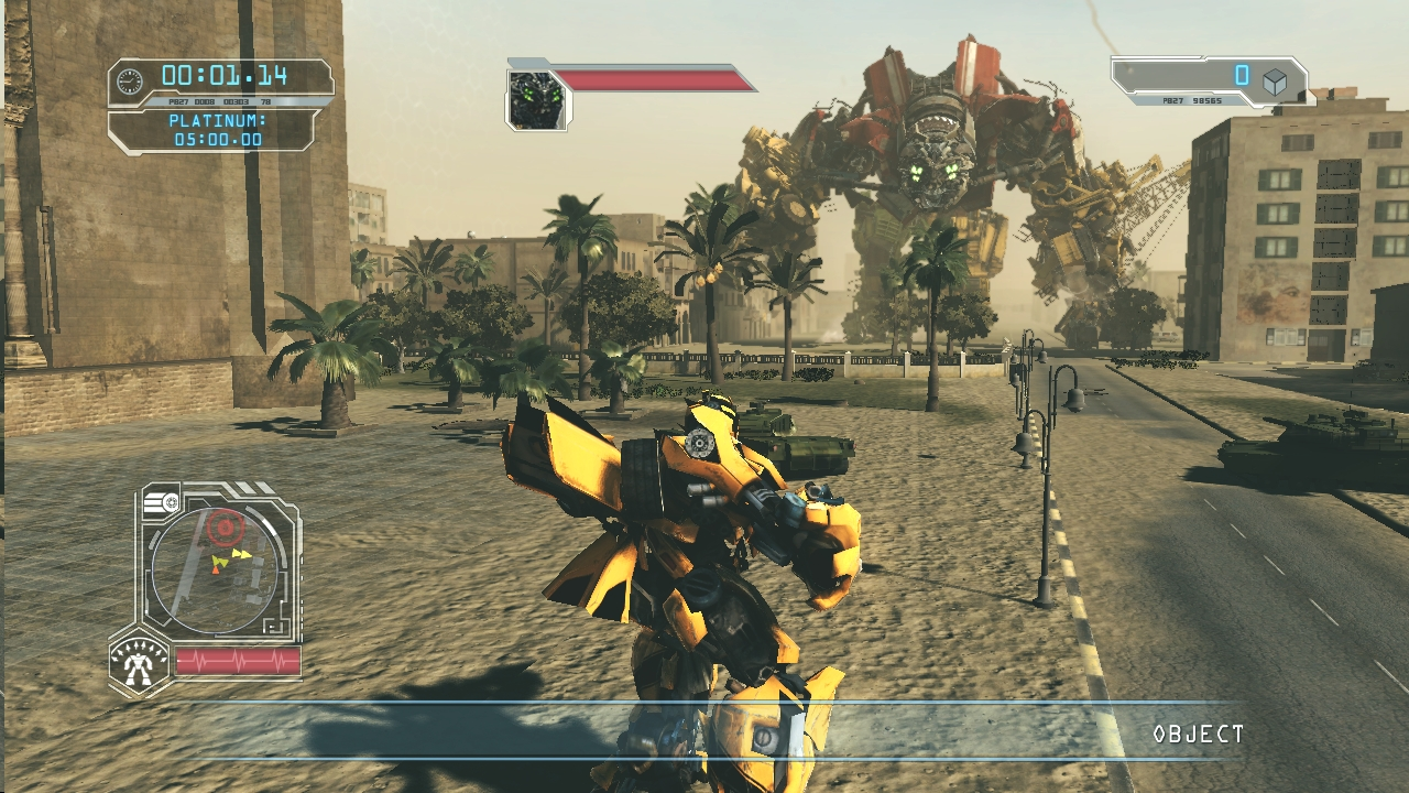 transformers 2 revenge of the fallen game - free download full