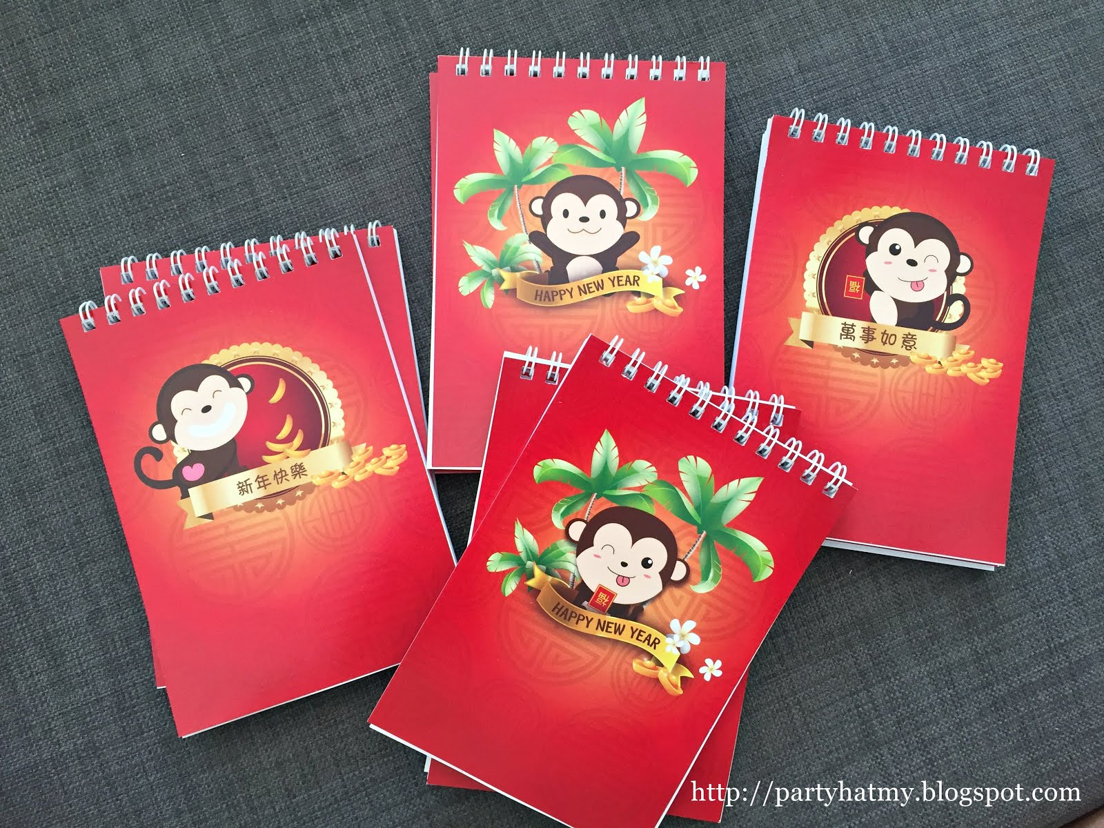 Personalised Small Notebooks