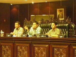 Arie Bersama Wakil Ketua MPR RI