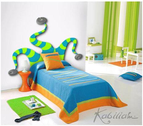 Cabecero de cama infantil Kabiliam