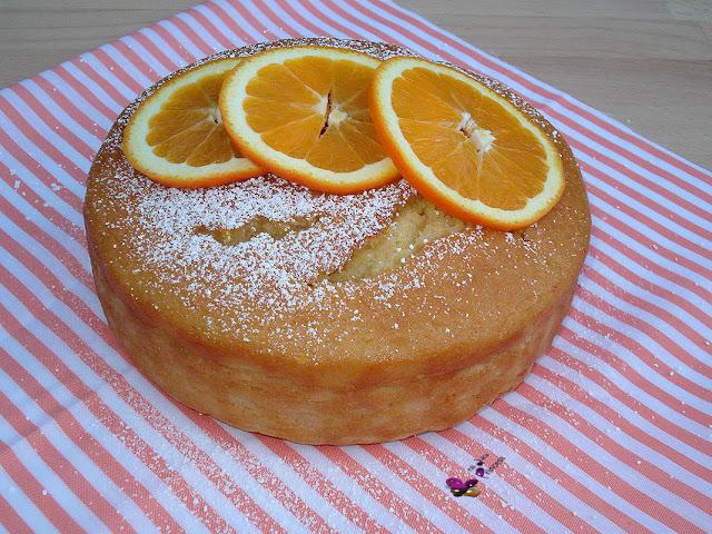 bizcocho, naranja, sin huevo, sin lactosa, bizcocho de naranja,