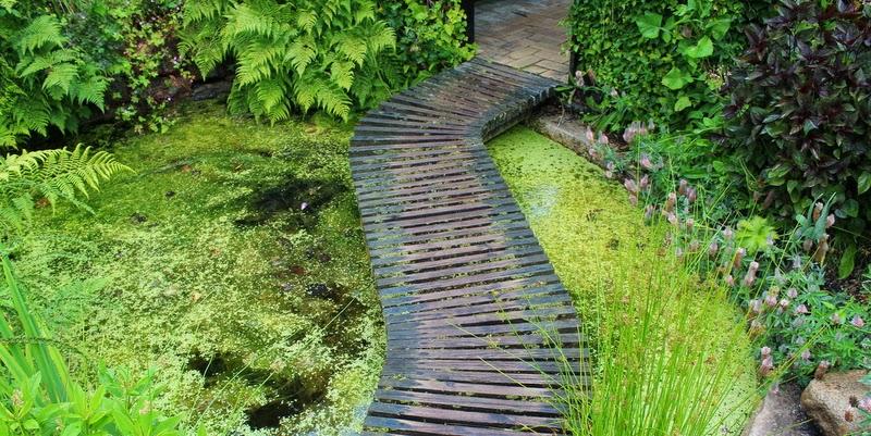 Haven i Hune, orangeri og pastelhave