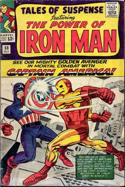 Tales of Suspense #58 cover