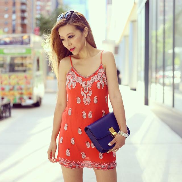 Raga Eternal Love Dress, celine classic box bag, nasty gal sunglasses, fashion blog