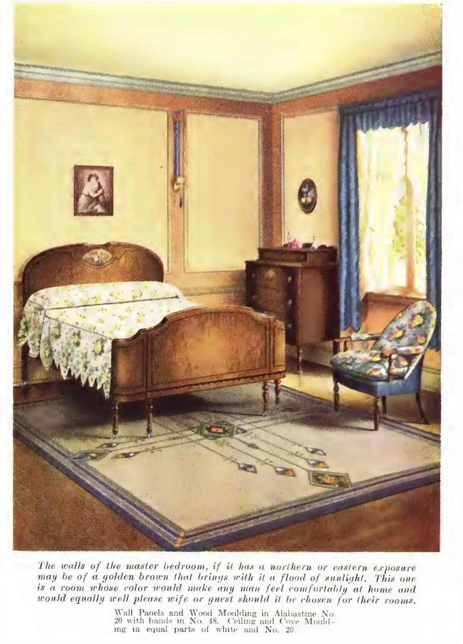 Laurelhurst craftsman bungalow misc period pictures for Room decor 1920s