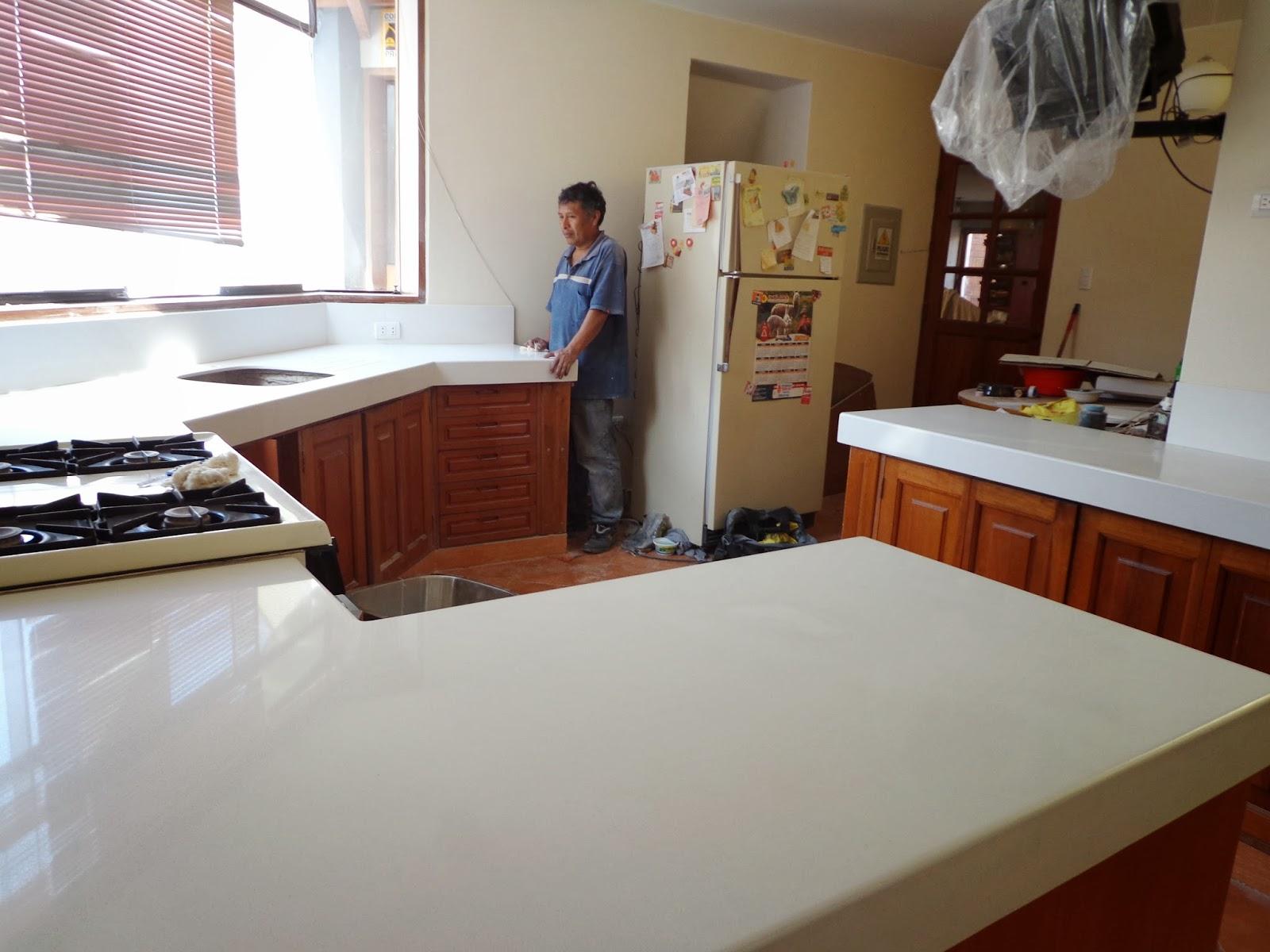Tableros cocina granito marmol lima tableros de cocina en for Cocinas de granito