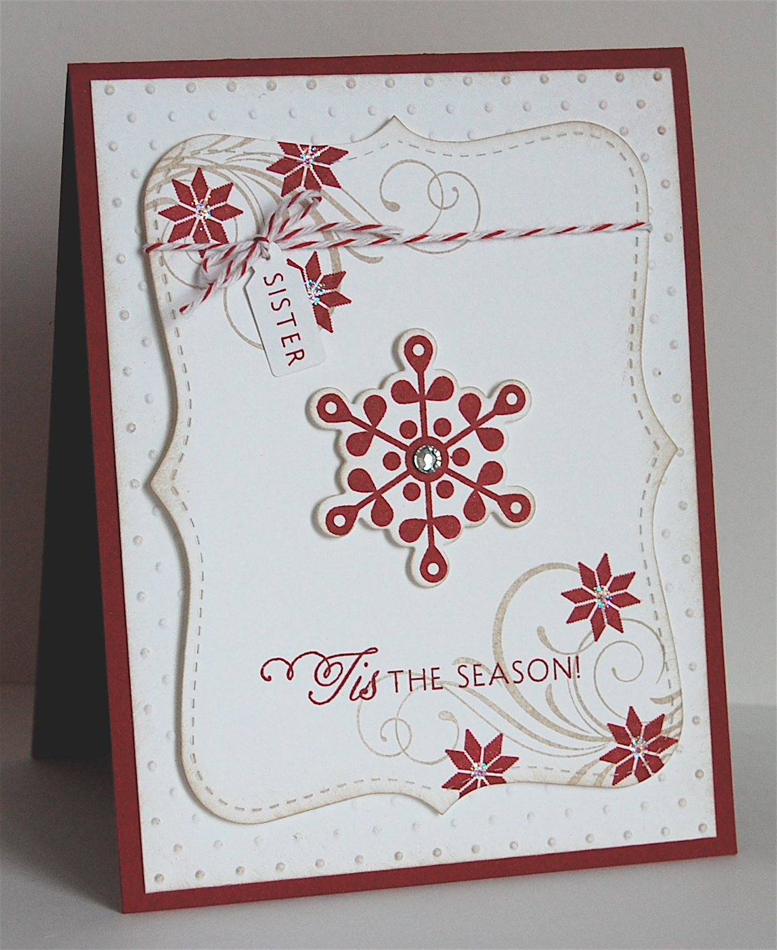 Mama mo stamps a special christmas card a special christmas card kristyandbryce Choice Image