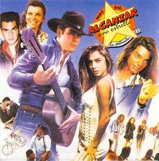 Carátula del disco Alcanzar una estrella (Varios artistas 1990)