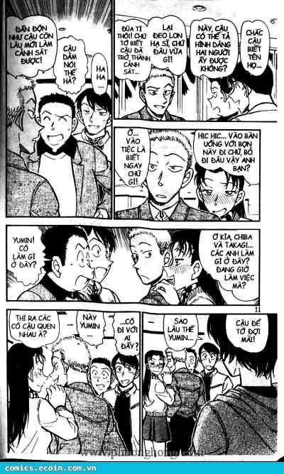 Detective Conan - Thám Tử Lừng Danh Conan chap 511 page 5 - IZTruyenTranh.com