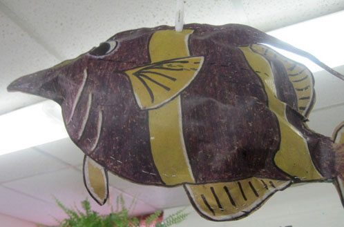 Paper Bag Fish