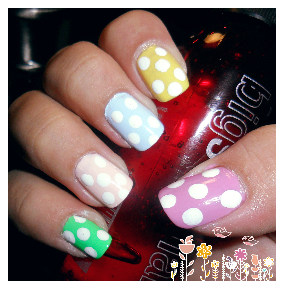 Easter nails (#newbie) Tutorial