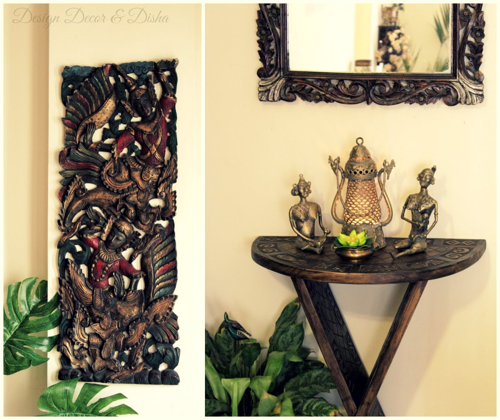 Design decor disha an indian design decor blog home tour kapila banerjee - Indian home decor online style ...