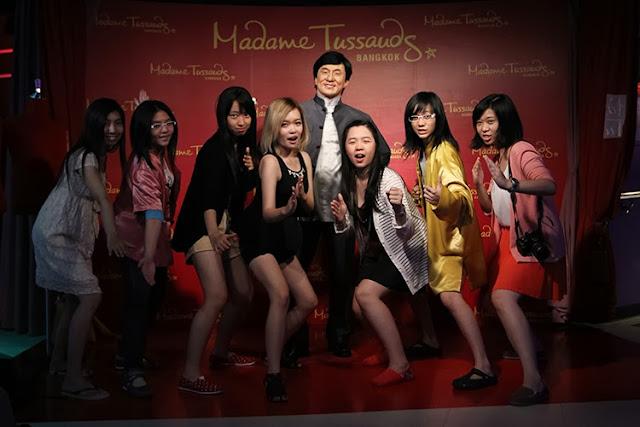 Madame Tussauds Bangkok jackie chan