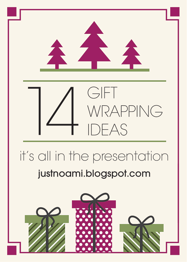 14 gift wrapping ideas