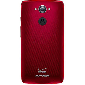 Motorola DROID Turbo (rear)