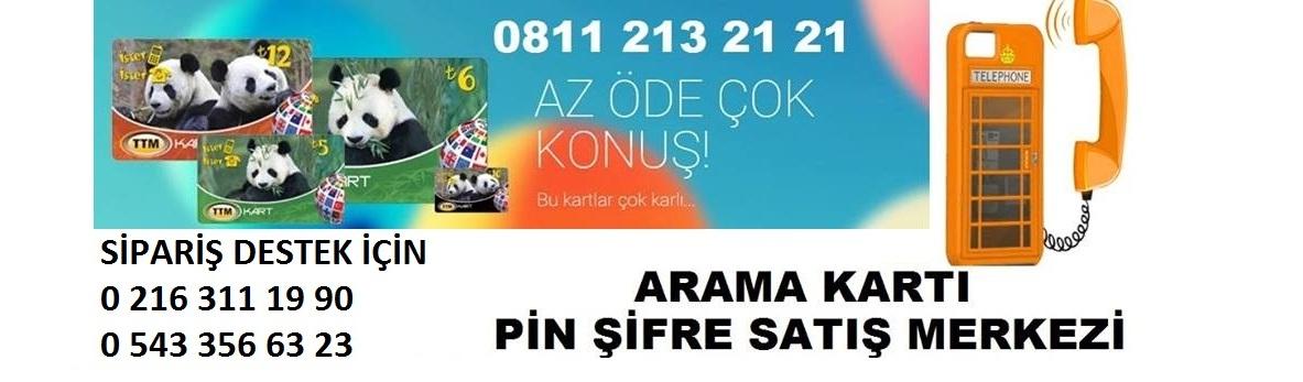 UCUZ ARAMA KARTI PİN ŞİFRE