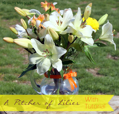 Lily Bouquet with Tutorial