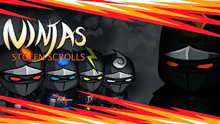 Screenshots of the Ninjas : Stolen scrolls for Android tablet, phone.