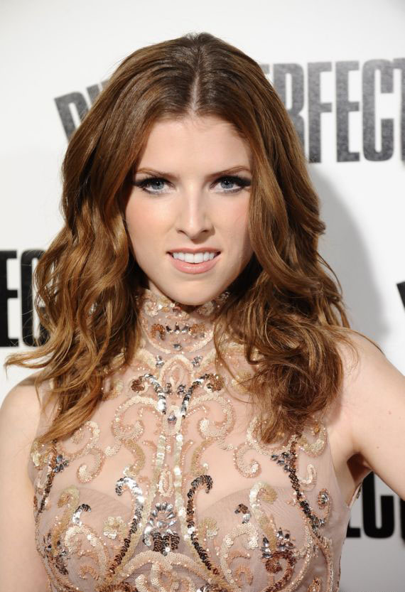 Actress Anna Kendrick In Pitch Perfect Premiere 2013 Anna Kendrick