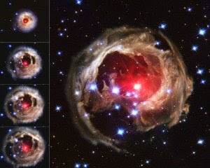 An original picture of red super giant from hubble space telescope (topicswhatsoever.blogspot.in)