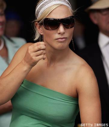Zara Phillips, daughter of Princess Anne,