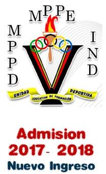 Proceso de admisión UETDT 2017-2018