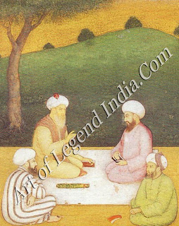 Meeting of sufi Saints