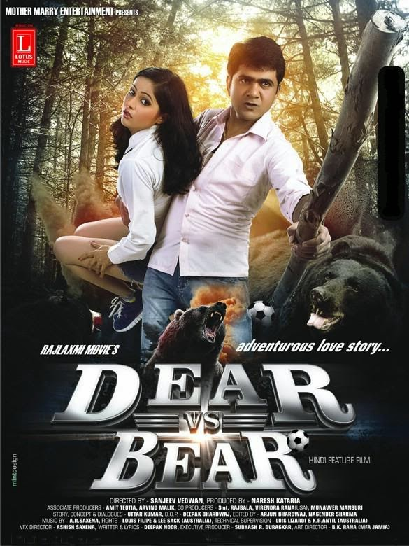 Watch Dear Vs Bear (2014) DVDScr Hindi Full Movie Watch Online Free Download