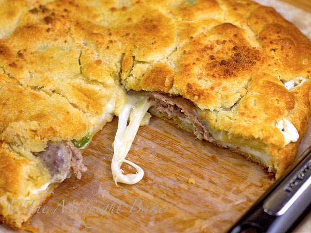 "Sausage and Pepper ""Pie"" 