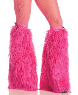Pink Furry BootCovers