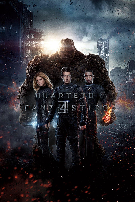 Quarteto Fantástico – Legendado (2015)