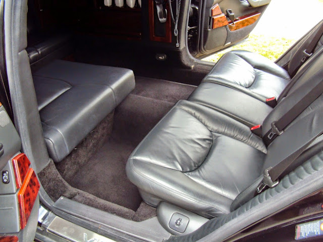 mercedes benz limo interior