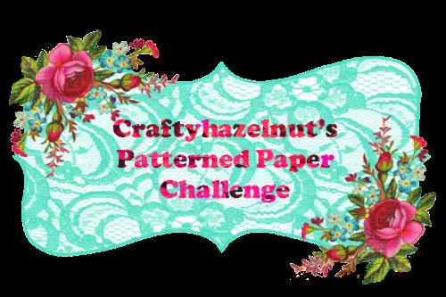 CRAFTYHAZELNUTS Patterned Paper Challenge