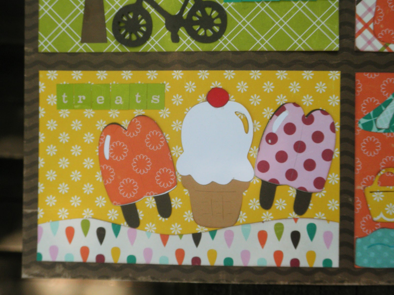 Cricut Crazy Scrapper: I love Summer wall hanging