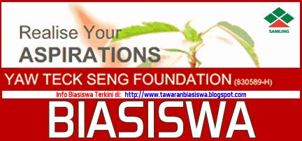 Biasiswa Yaw Teck Seng Foundation (Samling)