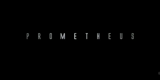 Prometheus 2012 science fiction alien film title by ridley scott 20th century fox