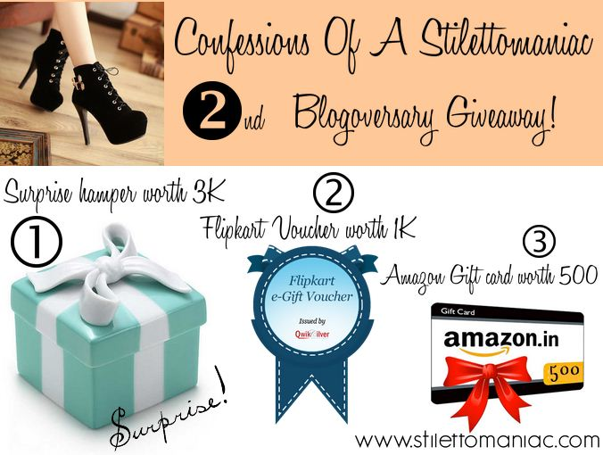 Enter The Ongoing Giveaway!