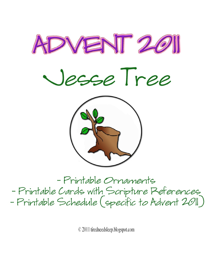 Michellan: The Jesse Tree for Advent 2011