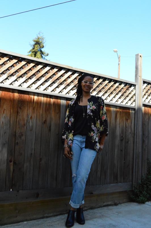 kimono jacket diy {who is that girl mo?}