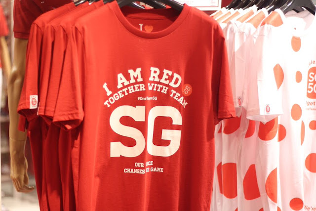 Team Singapore x Giordano Collection 2015