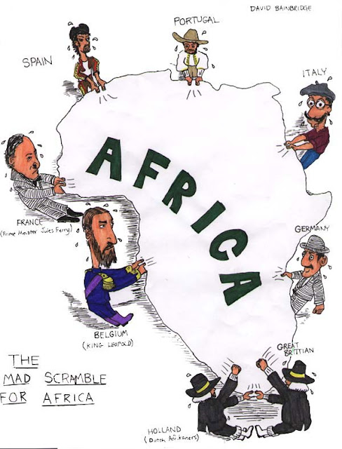 African cartoon