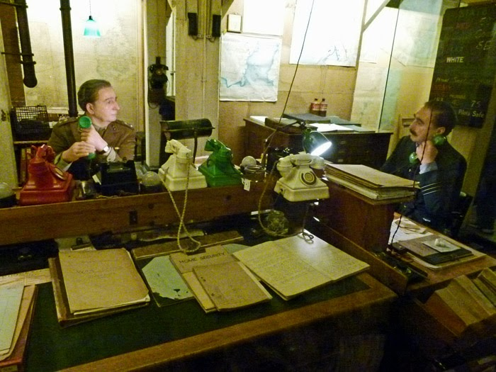 Churchill War Rooms, Map Room, museums, London